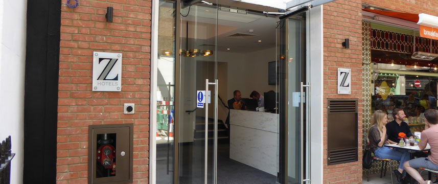 Z Hotel Tottenham Court Road - Entrance