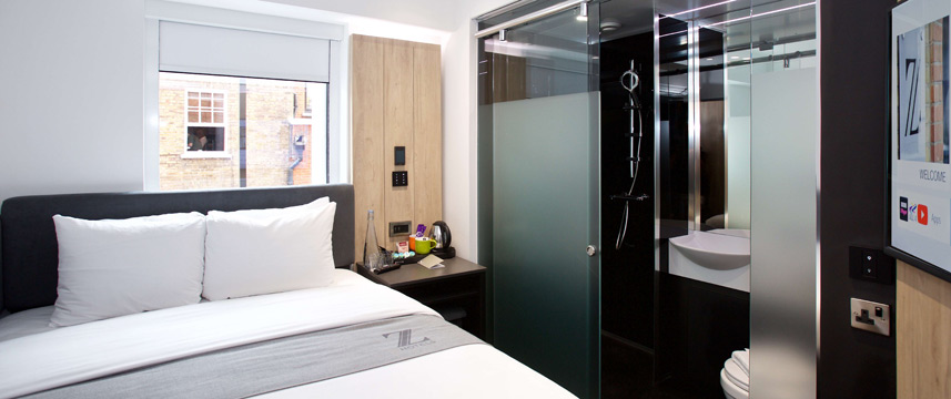 Z Hotel Tottenham Court Road - Z Queen Bedroom
