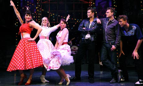 Dreamboats and Petticoats at the Wyndham`s Theatre