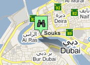 Click for map of Dubai City Centre hotels