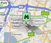 Click for map of Heathrow hotels