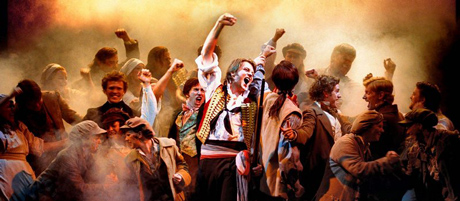 Les Miserables at the Queen`s Theatre