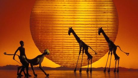 The Lion King at the Lyceum Theatre