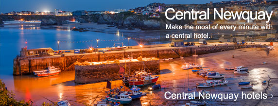 Central Newquay hotels