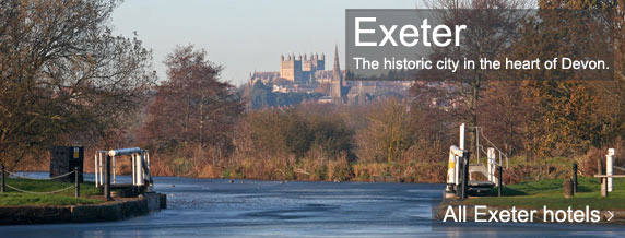 Exeter hotels