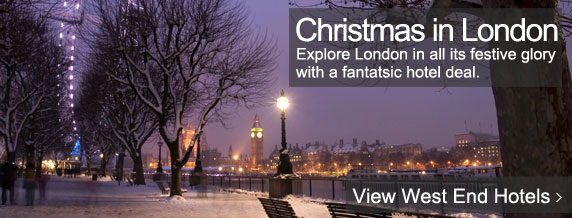 London Christmas Hotel deals