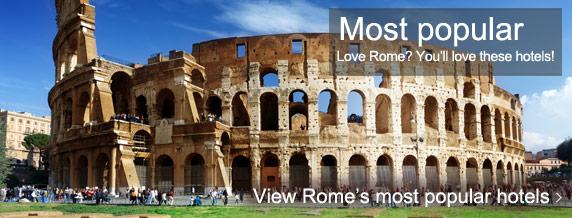 Rome most popular hotels