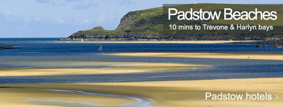 Padstow beaches hotels