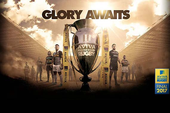 Aviva Premiership Rugby Final 2017
