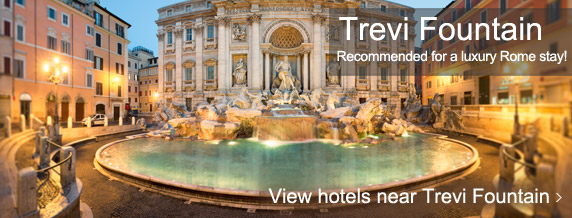 Hotels near Trevi Fountain