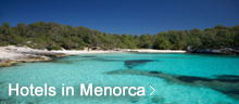 View Hotels in Menorca