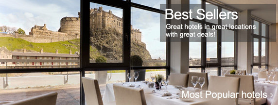 Edinburgh most popular hotels