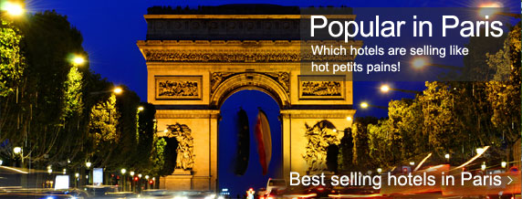 Paris most popular hotels