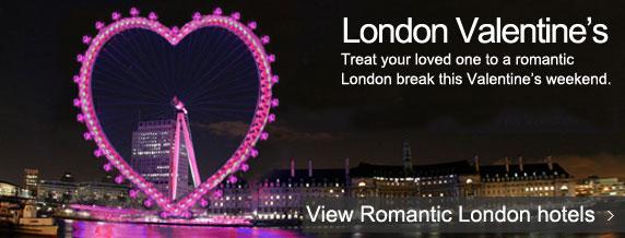 Romantic London hotels
