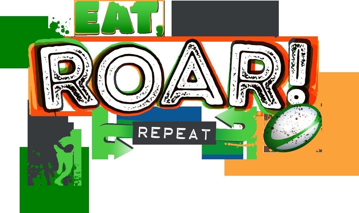 Eat, sleep, roar, repeat