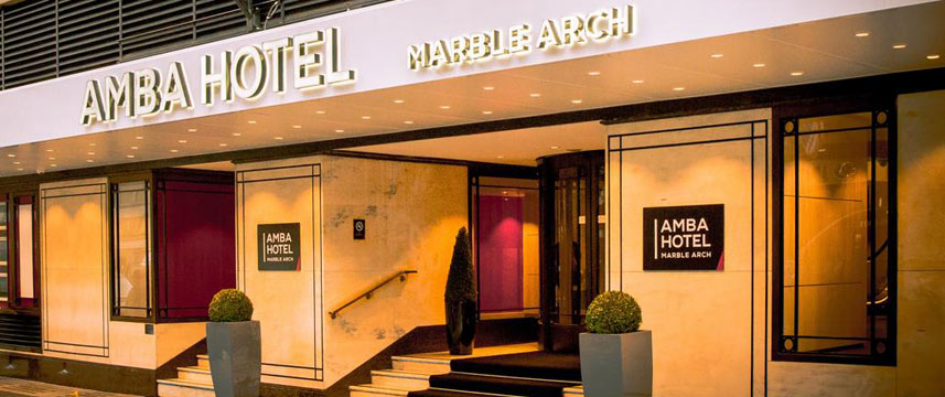Amba Hotel Marble Arch - Exterior View
