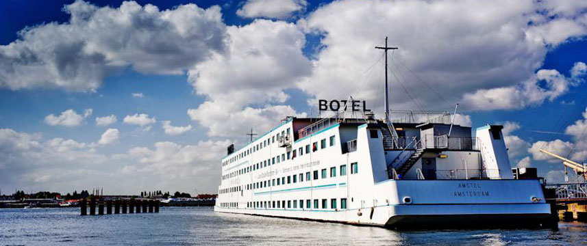Amstel Botel - Exterior View