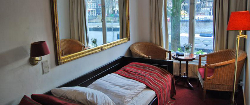 Amsterdam House Hotel Eureka Single Room