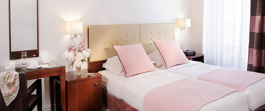 Astra Opera Twin Room Pink