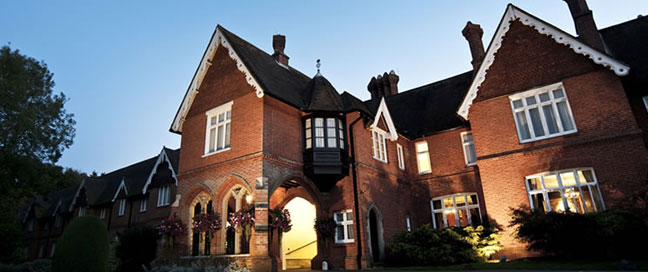 Audleys Wood Hotel - Exterior Night