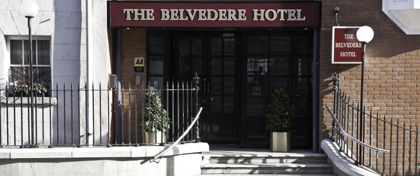 Belvedere Hotel - Entrance