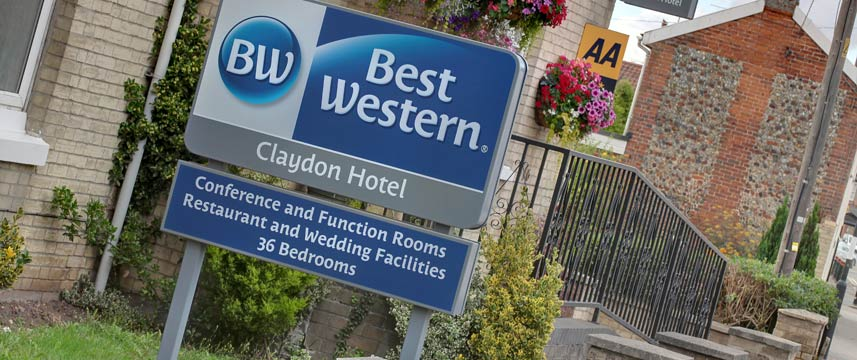 Best Western Claydon Hotel - Entrance