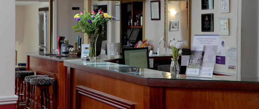 Best Western Claydon Hotel - Reception