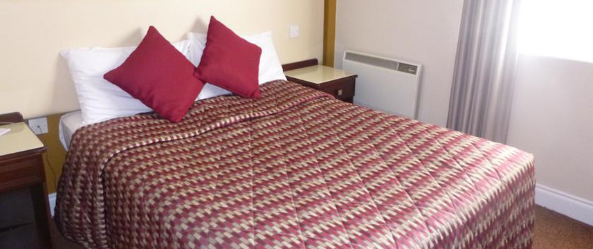Best Western Eviston House Hotel - Double Bedroom