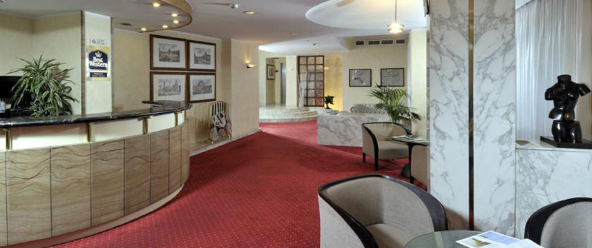 Best Western Hotel Piccadilly - Reception Area
