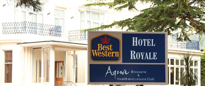 Best Western Hotel Royale - Sign