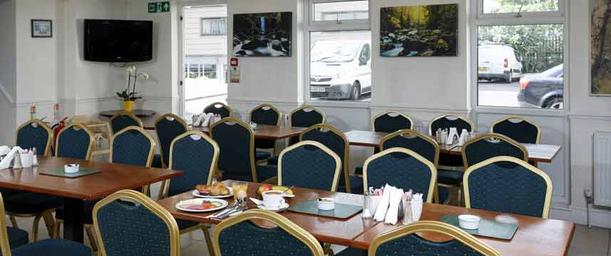 Best Western London Highbury - Breakfast Room