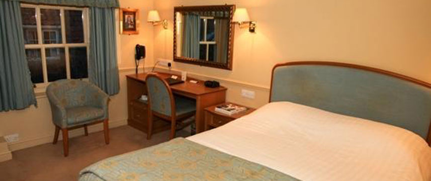 Best Western York Pavilion Hotel Double Bedded Room