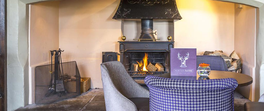 Billesley Manor Hotel - Fire Place Seating