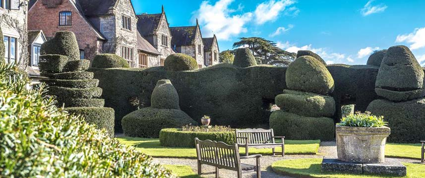 Billesley Manor Hotel - Topiary Gardens