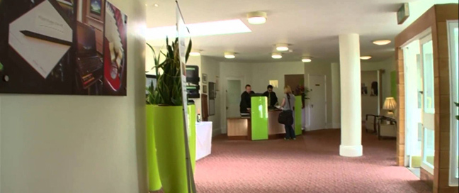 Chancellors Hotel and Conference Centre Reception