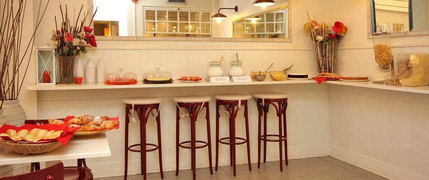 City Guest House - Breakfast Buffet