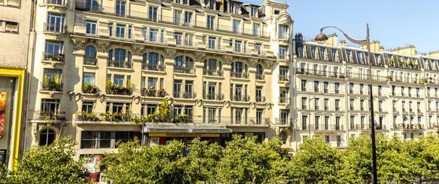 Contact Hotel Hotel Alize Montmartre Exterior