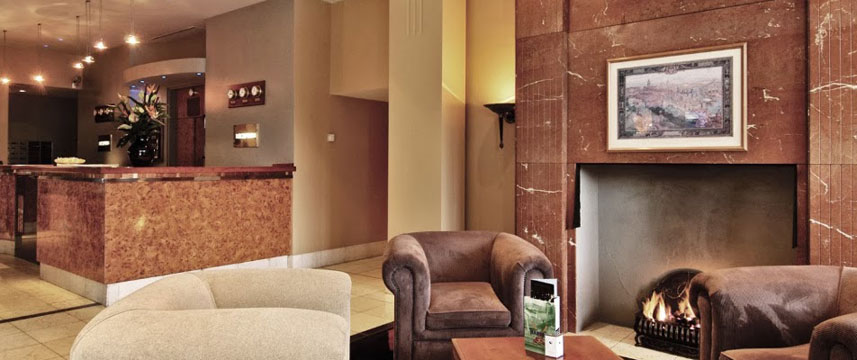 Copthorne Newcastle - Reception Area