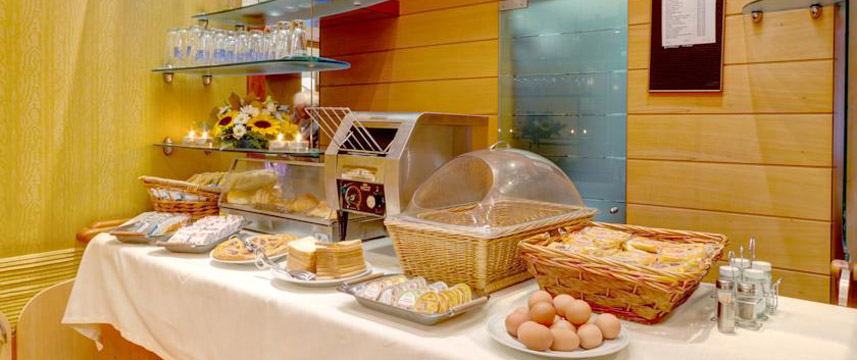 Corot Hotel - Breakfast Buffet