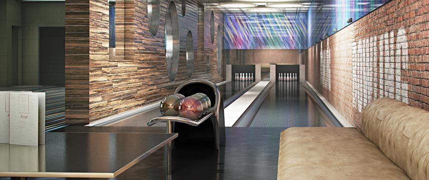 Courthouse Hotel Shoreditch - Bowling Alley