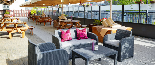 Croke Park - Outdoor Terrace