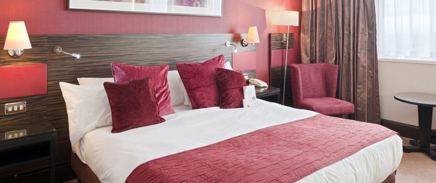 Crowne Plaza Glasgow - Double Room
