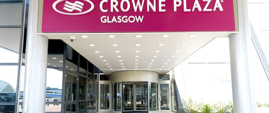Crowne Plaza Glasgow - Hotel Entrance
