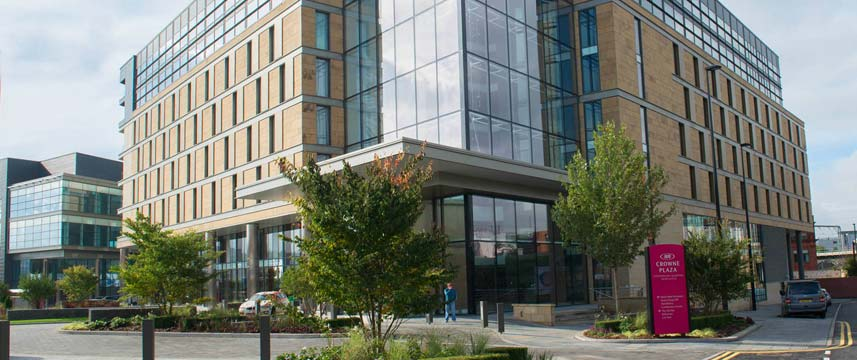 Crowne Plaza Newcastle Stephenson Quarter Exterior
