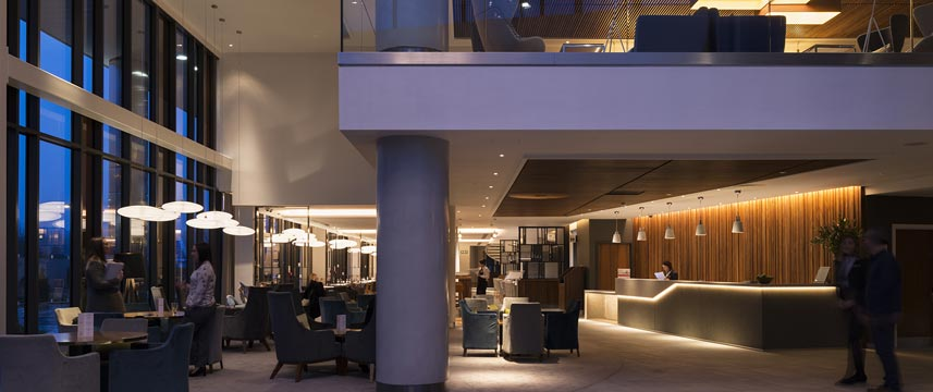 Crowne Plaza Newcastle Stephenson Quarter Lobby