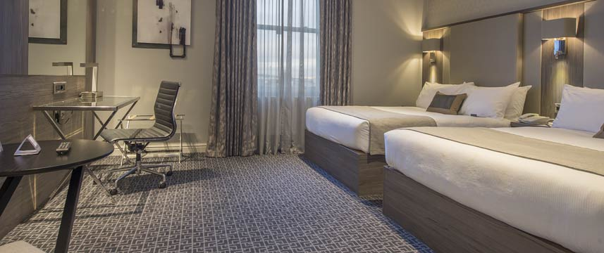 Crowne Plaza Sheffield Two Double Beds