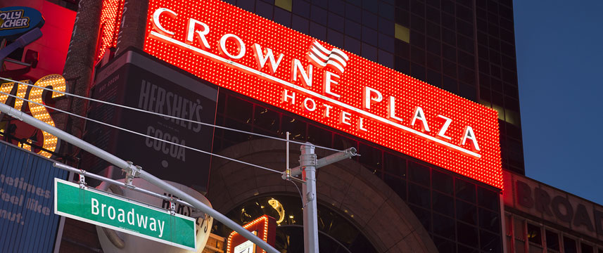 Crowne Plaza Times Square Manhattan - Entrance