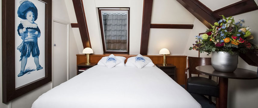 Die Port van Cleve Hotel - Double Bedroom