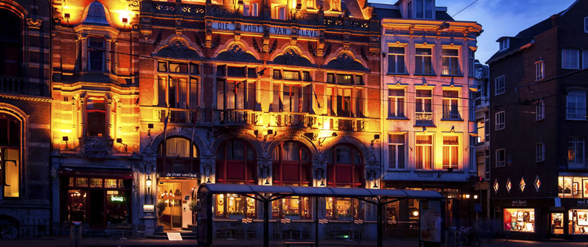 Die Port van Cleve Hotel - Exterior Night