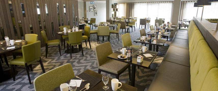 Doubletree by Hilton Hotel Bristol North Breakfast Tables
